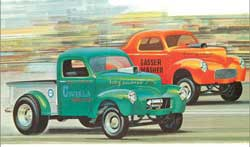 AMT '40 Willys Coupe/Pickup 1:25, LIST PRICE $29.98