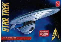AMT U.S.S.Excelsor Star Trek, LIST PRICE $41.29