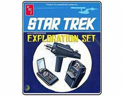 AMT STAR TREK EXPLORATION SET, LIST PRICE $28.75
