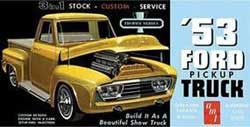 AMT 1953 FORD PICKUP 1:25, LIST PRICE $32.09