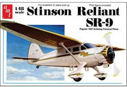 AMT STINSON RELIANT 1:48, LIST PRICE $23.09