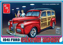 AMT 1941 FORD WOODY 1:25, LIST PRICE $31.25