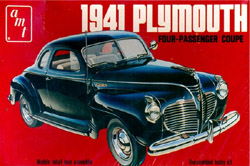 AMT 1941 Plymouth 4 Passanger Coup, LIST PRICE $27.49