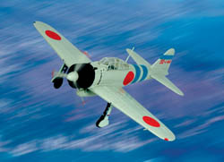 ARMOUR AIRCRAFT  JAPANESE ZERO PEARL HARBOR , LIST PRICE $15