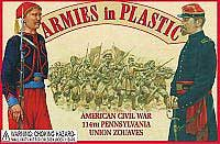 ARMOUR AIRCRAFT  114Th Penn Zouaves In Red, LIST PRICE $15