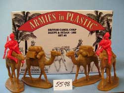 ARMOUR AIRCRAFT  2 Men Mtd On Camels & Pack Cam, LIST PRICE $15