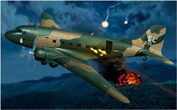 ARMOUR AIRCRAFT  AC-47 BIEN HOA AIRBASE VIETNAM, LIST PRICE $155