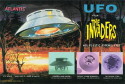 ATLANTIS MODEL The Invaders UFO 1/72 Scale, LIST PRICE $39.99