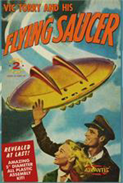 ATLANTIS MODEL Vic Torry's Flying Saucer, LIST PRICE $19.99