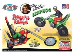 ATLANTIS MODEL 1:12 Roar'n Peace Leap Hog w/ATV & Motorcycle, LIST PRICE $27.99