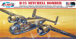 ATLANTIS MODEL 1/64 B-25 Flying Dragon with Swivel Stand, DUE 3/30/2018, LIST PRICE $19.99