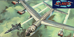 ATLANTIS MODEL 1/135 B-52 and X-15 with Swivel Stand, DUE 3/30/2018, LIST PRICE $19.99