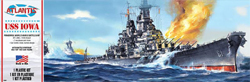 ATLANTIS MODEL USS Iowa Battleship 1:535, LIST PRICE $21.99