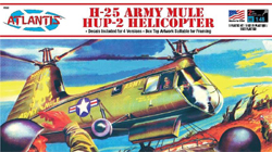 ATLANTIS MODEL 1/48 H-25 Army Mule Helicopter, DUE 3/30/2018, LIST PRICE $19.99