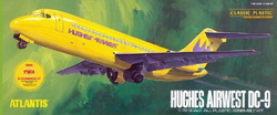 ATLANTIS MODEL Hughes Airwest DC-9, LIST PRICE $44.99