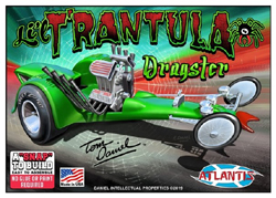 ATLANTIS MODEL 1/32 Snap Lil Trantula Tom Daniles Show Rod, DUE 7/30/2019, LIST PRICE $21.99
