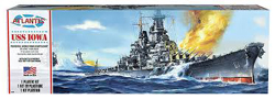 ATLANTIS MODEL 1/535 USS Iowa Battleship , DUE 11/30/2018, LIST PRICE $24.99