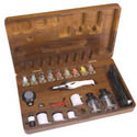 Aztec Airbrushes METAL AIRBRUSH SET DBL ACTION , LIST PRICE $303.39