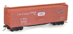 Accurail 40' Wood Boxcar 2pk Chicago & North Western, LIST PRICE $32.98