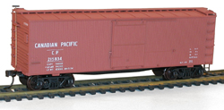 Accurail HO 36ft Double Sheath Wood Box CP, LIST PRICE $17.98