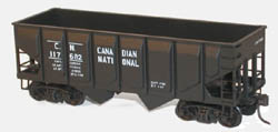 Accurail HO KIT 55-Ton Panel Side Twin Hopper, CN, LIST PRICE $13.98