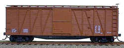 Accurail 40' Wood OB Box_ Data Only, LIST PRICE $17.98