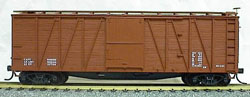 Accurail 40' Wood OB Box_ Data Only, LIST PRICE $16.98