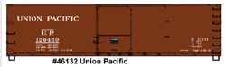 Accurail HO 40ft USRA Wood Double Sheathed Box, UP, LIST PRICE $18.98