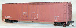 Accurail HO KIT AAR Double Plug Door Box, Data/Mineral Red, LIST PRICE $16.98