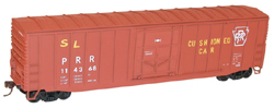 Accurail HO 50' EP Steel Boxcar PRR, LIST PRICE $17.98