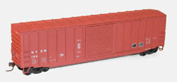 Accurail HO 50' Exterior Post Steel Box NYS&W, LIST PRICE $16.98
