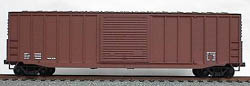 Accurail 50' EXT POST BOXCAR DAT MINERAL RED, LIST PRICE $16.98