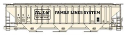 Accurail HO PS 4750 Cvrd Hop Famil Ln, LIST PRICE $20.98