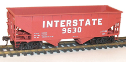 Accurail HO KIT Offset Twin Hopper, Interstate, LIST PRICE $17.98