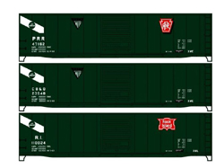 Accurail HO General American 50ft Steel Boxcar 3-Car Set , DUE 2/15/2020, LIST PRICE $59.98