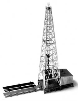 Alexander Scale HO Oil drilling rig, LIST PRICE $63.75