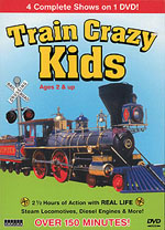 Auran A Train Crazy Kids DVD, LIST PRICE $7.99