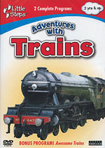 Auran A Adventures With Trains DVD, LIST PRICE $5.99