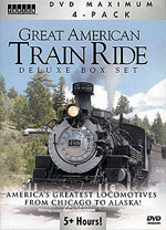 Auran A Great American Train Ride DVD, LIST PRICE $14.99