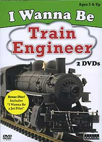 Auran I Wanna Be A Train Engineer DVD, LIST PRICE $11.98