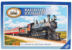 Auran A Railroad Journeys DVD Set 18 Disc Set 15 Hours, LIST PRICE $59.99