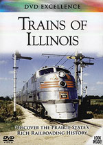 Auran A Trains of Illinois DVD Discover the Priaire State's Rich R, LIST PRICE $14.99