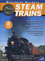 Auran A Steam Trains DVD Set, LIST PRICE $29.99