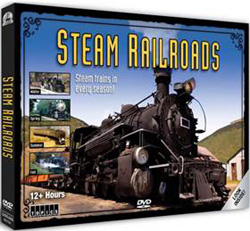 Auran Steam Railroads 12 Hour DVD Pack, LIST PRICE $29.99