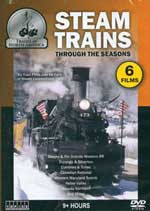 Auran A Steam Trains through the Seasons DVD 7 Hours, LIST PRICE $14.99
