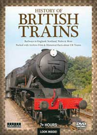 Auran History of British Trains DVD 7+ Hours, LIST PRICE $24.95