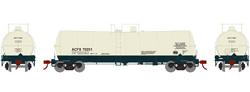Athearn HO 16000 gal Tank ACFX 76251, DUE 10/30/2019, LIST PRICE $35.98