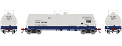 Athearn HO 16000 gal Tank Union Tank UTLX 301468, DUE 10/30/2019, LIST PRICE $35.98