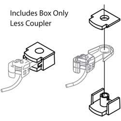 Athearn N Coupler Box & Cover (6pr), LIST PRICE $14.98