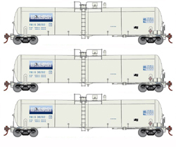 Athearn HO 30K Ethanol Tank Transport Equipment TEIX 3 pk, DUE 11/30/2018, LIST PRICE $119.98